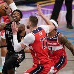 Kyrie Irving ทำแต้มสูงสุดพาทีม Nets เอาชนะ Wizards ไปได้